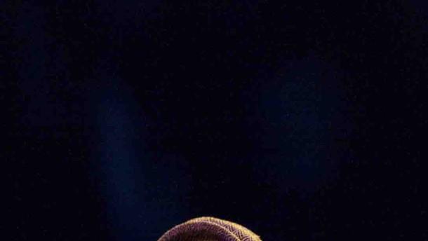 Gil Scott-Heron - der amerikanische Soulsänger tritt in der Münchner Konzerthalle Muffat auf.