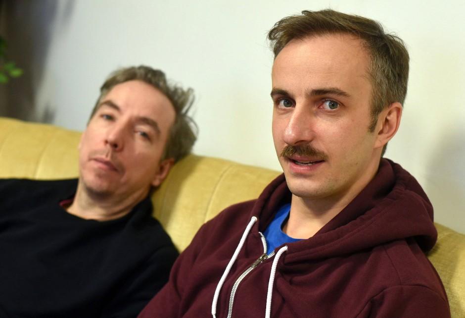 Pioniere des Internetradios? Olli Schulz (links) und Jan Böhmermann.