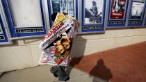 """Abgehängt: In Atlanta wurden am Mittwoch bereits die Filmplakate zu """"The Interview"""" entfernt"""