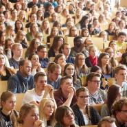 Semesterbeginn an der Universität in Koblenz im Oktober 2017