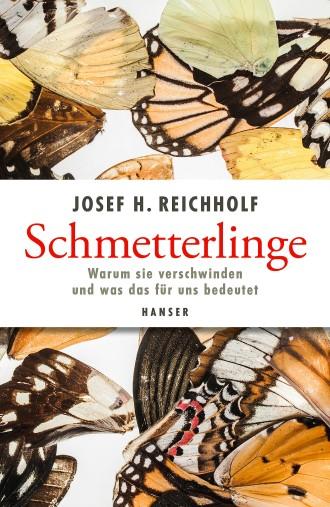 """Josef H. Reichholf: """"Schmetterlinge"""". Warum sie verschwinden und was das für uns bedeutet. Hanser Verlag, München 2018. 288 S., geb., 24,– €."""