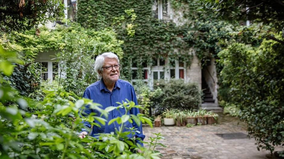 Georges Aperghis in Paris im Oktober 2020