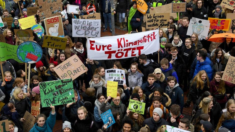Fridays-for-Future-Demonstration in Elmshorn