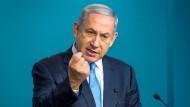 """Israels Ministerpräsident Benjamin Netanjahu: """"Offensive und defensive Schritte"""""""