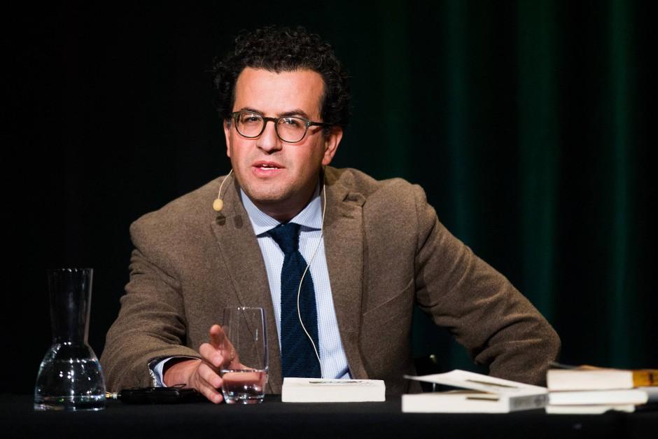 Literatur auf der Höhe der Philosophie: der libysche Autor Hisham Matar.