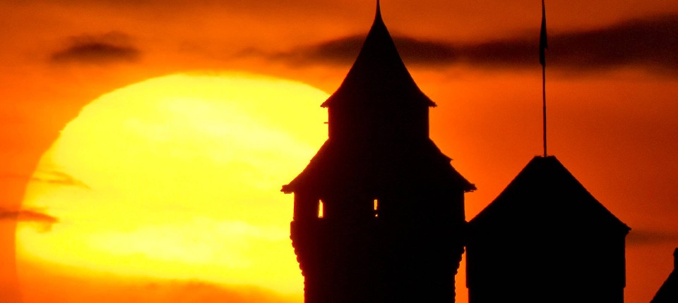 Sonnenuntergang nürnberg