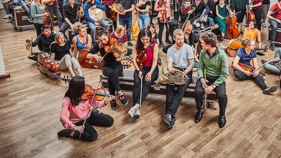 Mitglieder der Jungen Deutschen Philharmonie