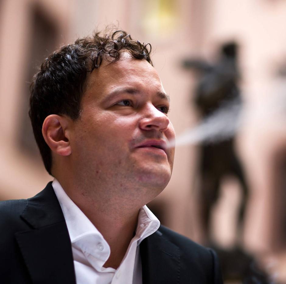 Der Schriftsteller Thomas Melle