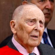 Daniel Cordier 2018 bei den Feierlichkeiten zum 18. Juni, dem Tag von Charles De Gaulles Appell an die Franzosen im Jahr 1940.