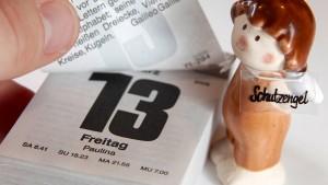 Warum sich manche vor Freitag, dem 13. fürchten