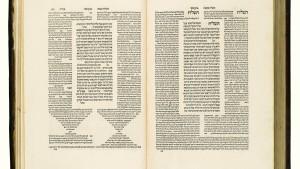 Historischer Talmud bricht den Weltrekord für Judaica