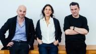 Kurz vor der Berlinale: die Regisseure Thomas Stuber, Emily Atef und Christian Petzold