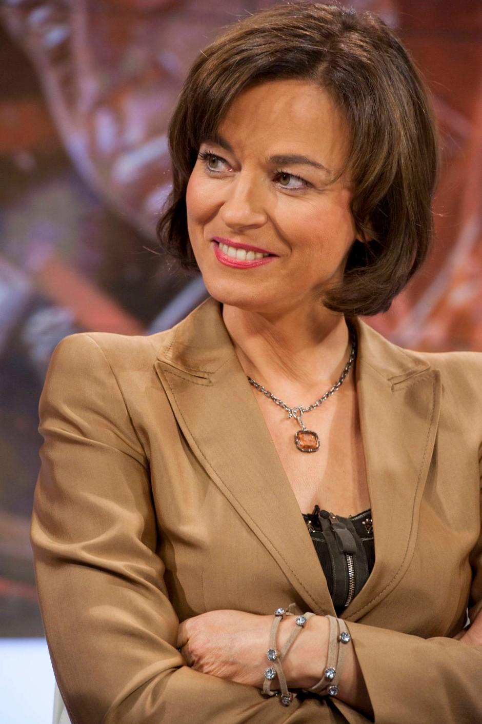 Maybrit Illner im Gespräch: Nur wer sich bewegt, bleibt