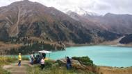 Man hat es gerne wild: Kasachstan ist der größte Binnenstaat der Welt. Da bleibt reichlich Platz für unberührte Natur.
