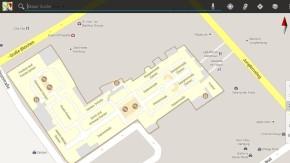 Google startet mit «Indoor-Maps» in Deutschland