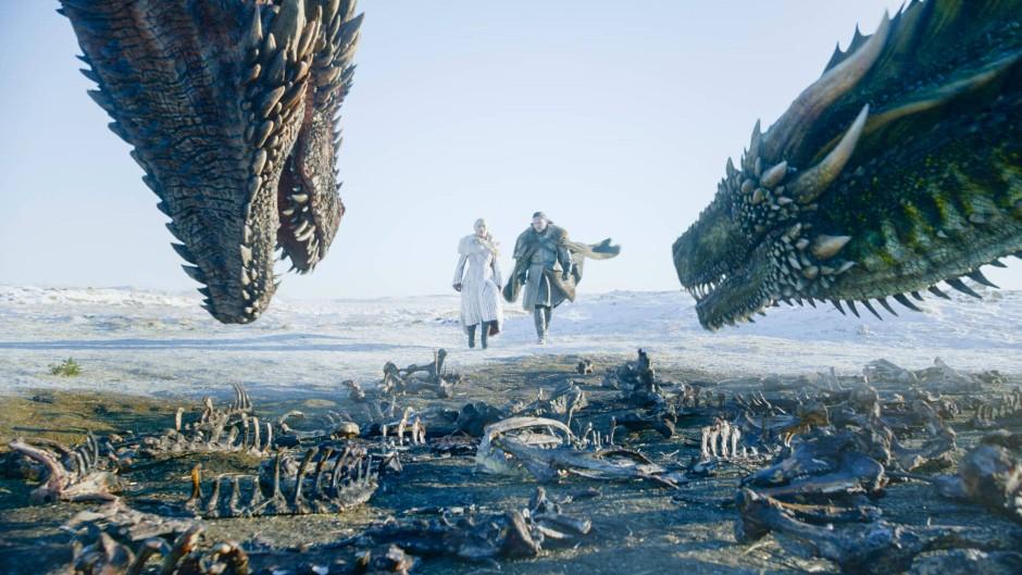 """Der moderne Klassiker des Abofernsehens: Szene aus der Serie """"Game of Thrones"""", die auf den Romanen des """"Das Lied von Eis und Feuer""""-Zyklus von George R.R. Martin basiert"""