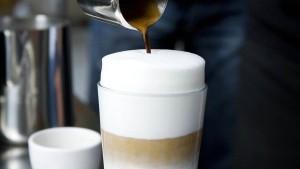 Warum Latte macchiato?
