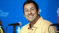 Adam Sandler bei einer Pressekonferenz