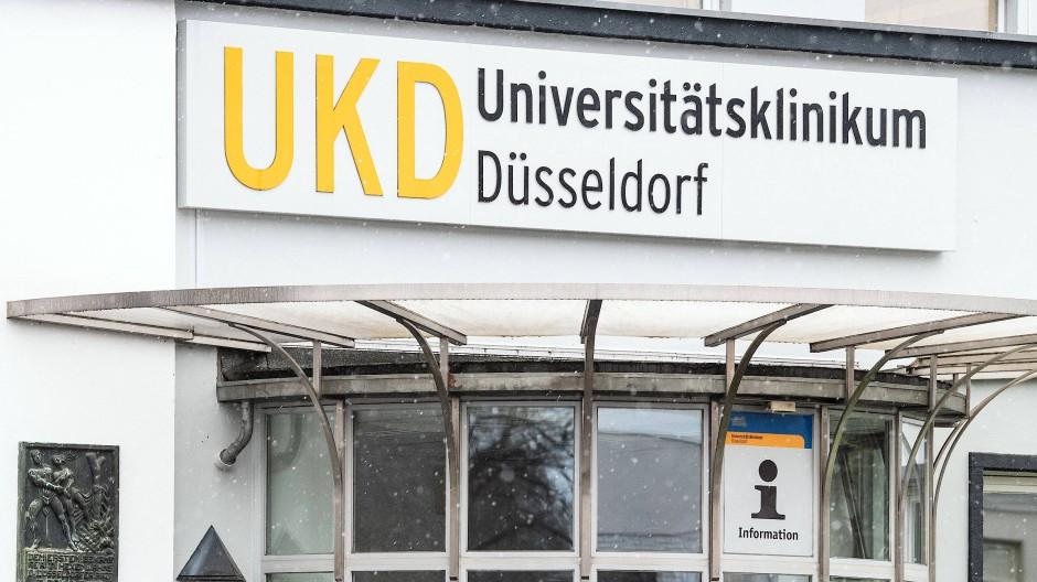 Vorübergehend im Notbetrieb: das Universitätsklinikum Düsseldorf