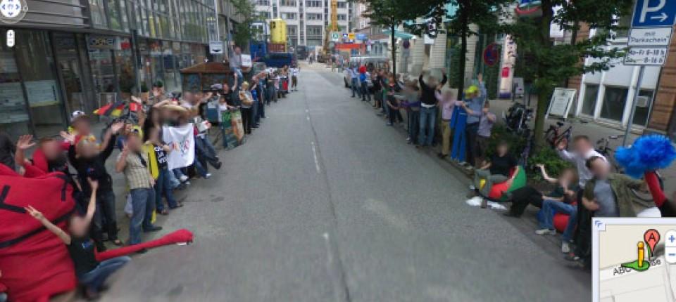 Google Street View Halb Zehn Uhr Morgens Irgendwo In Deutschland