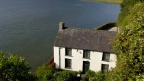Dylan Thomas' Bootshaus in Laugharne