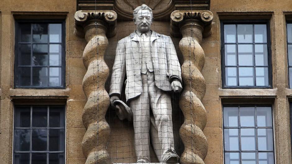 Cecil-Rhodes-Statue in Oxford