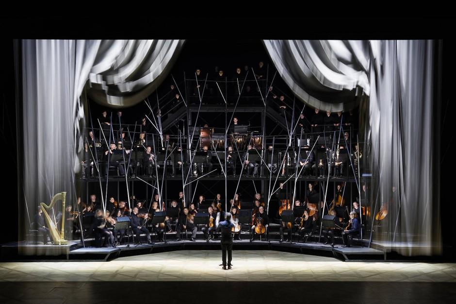 Wie Elfen in den Zweigen: Das Orchester am Opera Ballet Vlaanderen