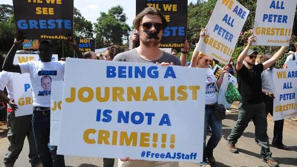 Kairo im Kampf gegen die Presse