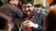 Die Twitter-App hat er schon von seinem Smartphone gelöscht: Christopher Lauer