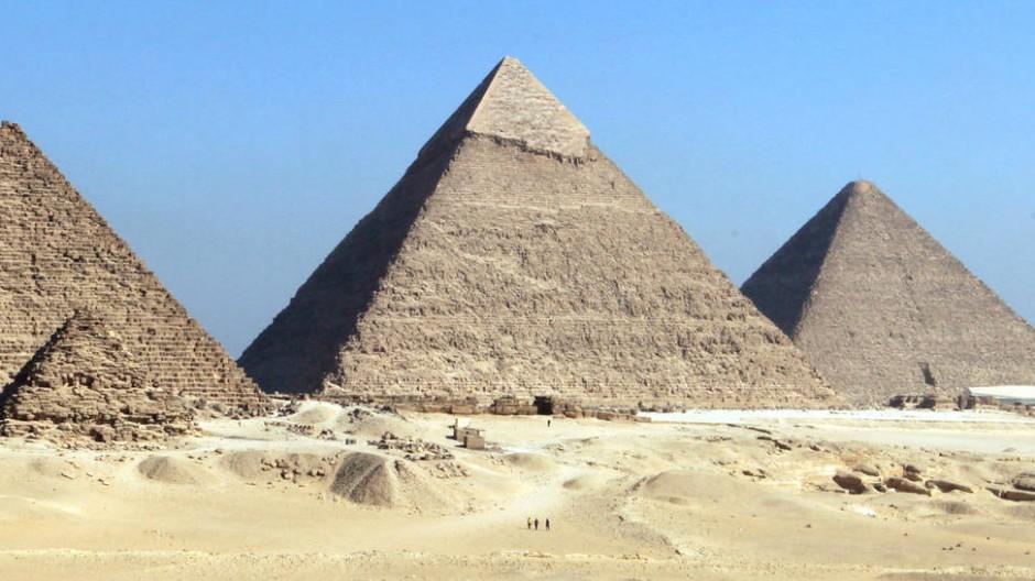 Von Menschenhand gemacht: Die Pyramiden von Gizeh