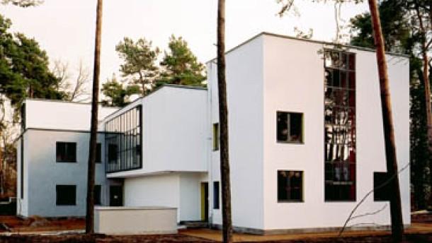 Architektur Bauhaus In Dessau Hausputz In Sachsen