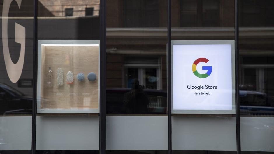 Ein Google-Laden in New York