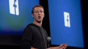 Anzeige gegen Mark Zuckerberg