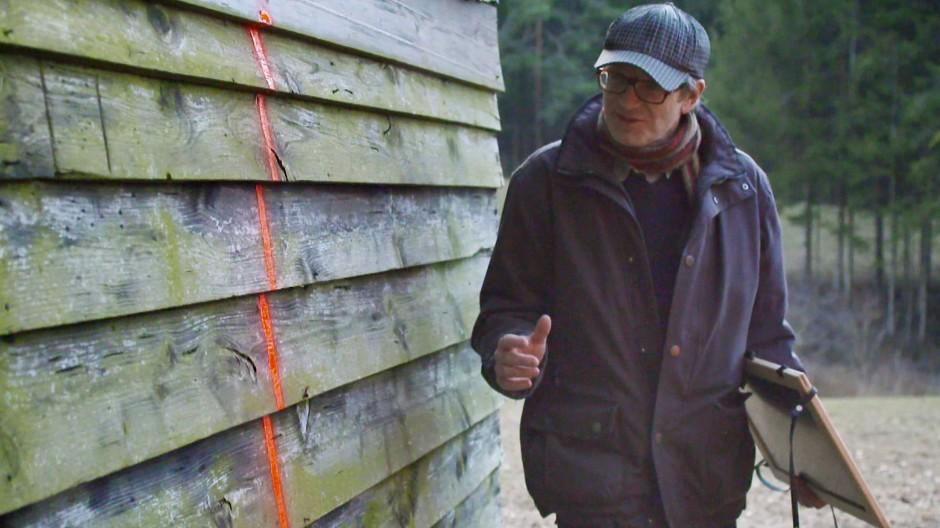Die Hütte von Andreas Geiger steht zwischen den Welten – das Landgericht muss entscheiden.