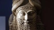 Gerettet: Assyrische Skulptur aus Nimrud im irakischen Nationalmuseum in Bagdad