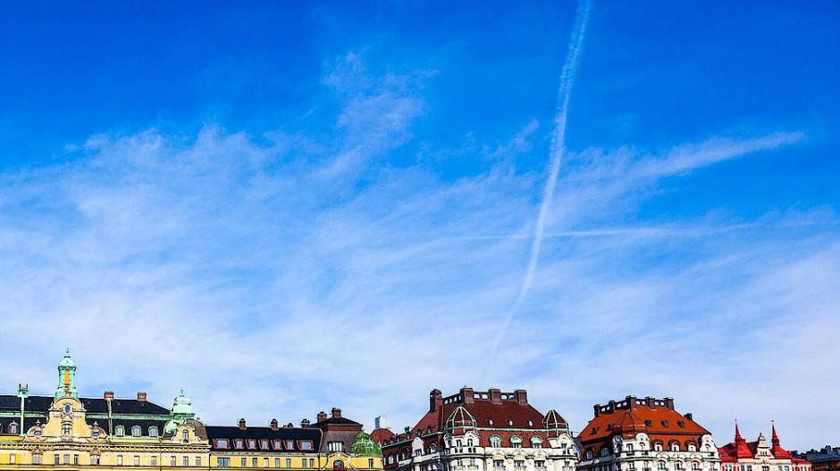 Der Himmel über Stockholm