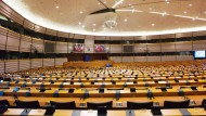 Platz für Gestaltungsraum: Der Plenarsaal des Europaparlaments in Brüssel