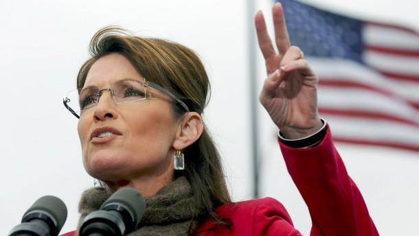 Sarah Palins digitale Blase