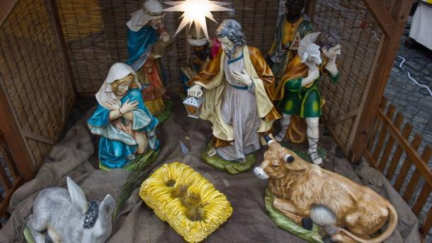 Christkind aus Krippe gestohlen