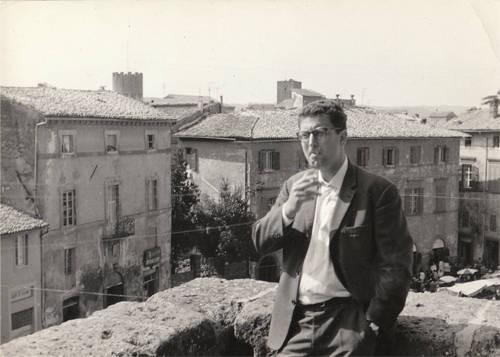 ...  um 1955 als Student in Italien