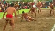 Kulturelles Ballspiel in Mexiko