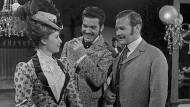 Menage a trois: Lidia, ihr Mann Wassilkow und der Zyniker Glumow (gespielt von Elfriede Irrall, Jan Hendricks und Karl Heinz Kreienbaum) in einem DDR-Fernsehspiel von 1964.