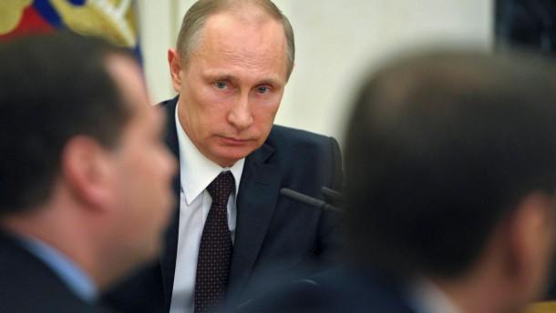 Die Faschisten sitzen im Kreml