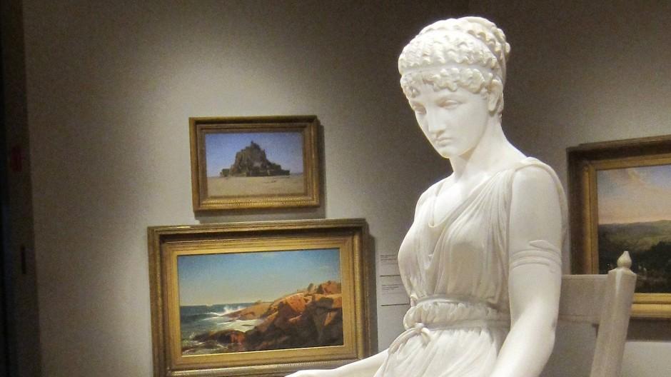 Niemands Frau: Die Marmorfigur der Penelope von Franklin Simmons steht im De Young Museum in San Francisco.