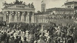 Feier des Reiches aus Eisen und Blut