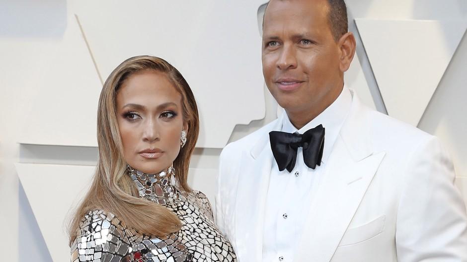 """Ein """"mittelgroßes Treueproblem"""": Jennifer Lopez and Alex Rodriguez"""