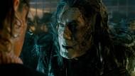 """Kapitän Salazar (Javier Bardem) ist im fünften Teil der """"Piraten""""-Saga eher der No-Nonsense-Typ."""