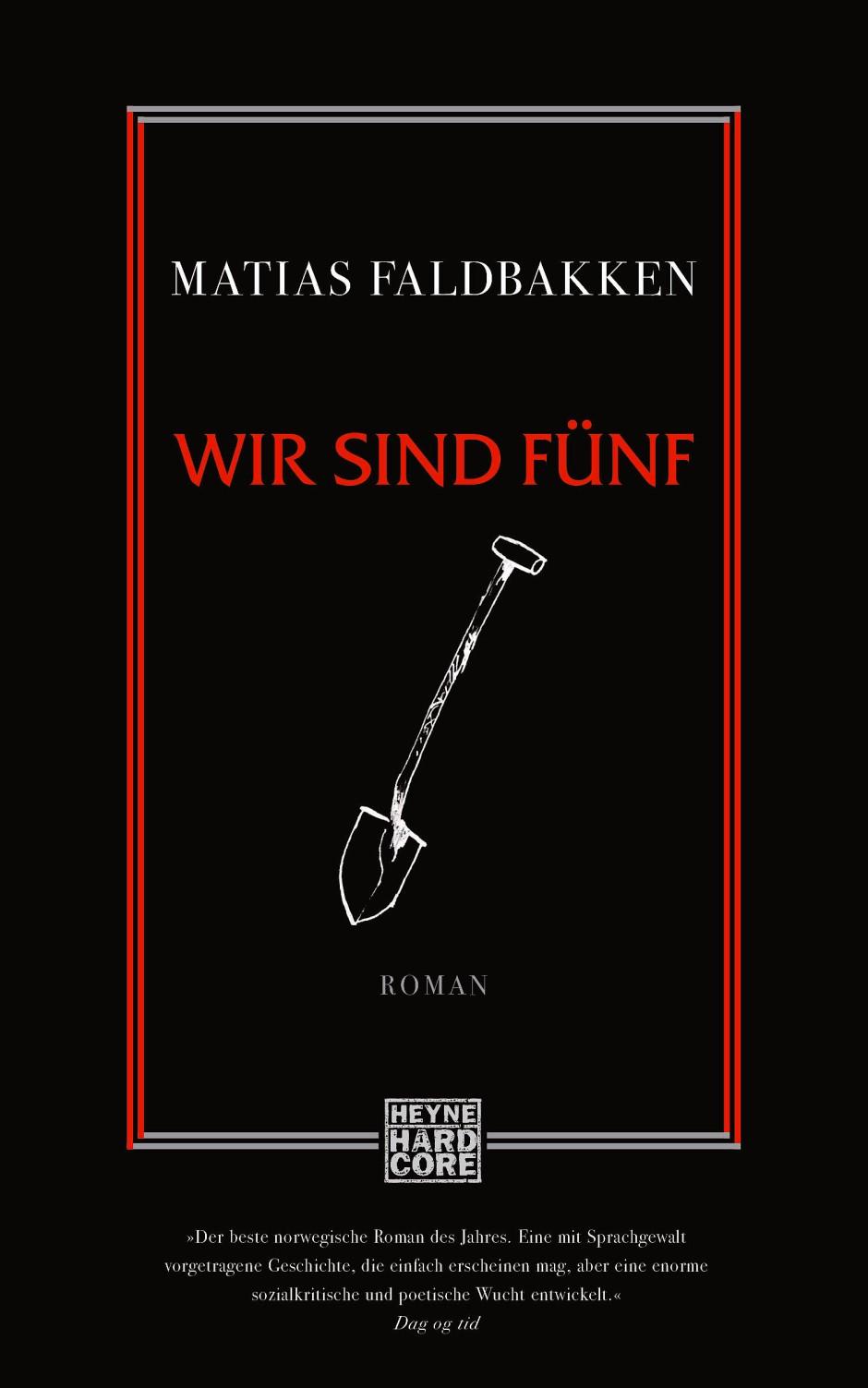 """Matias Faldbakken: """"Wir sind fünf""""."""