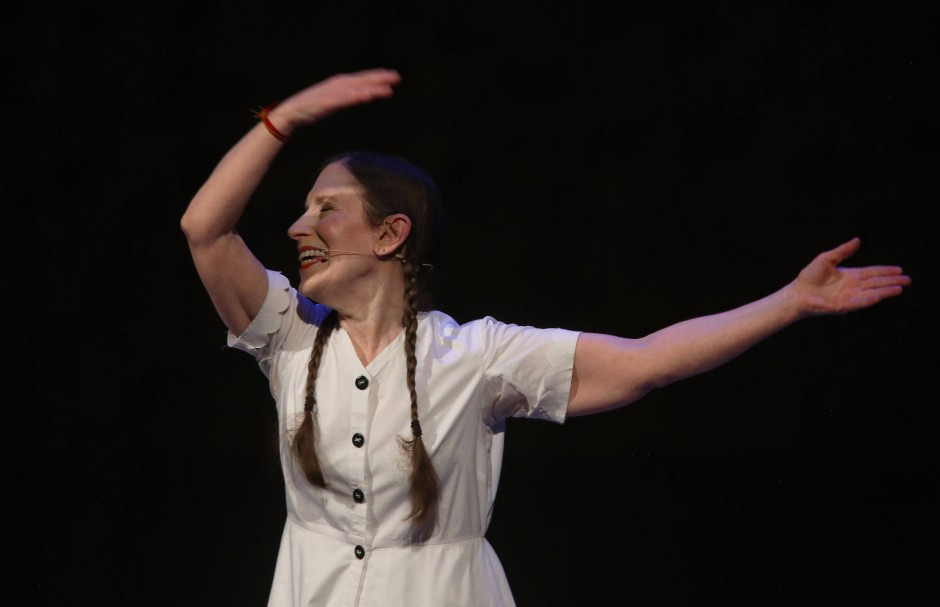 Meredith Monk in der Elbphilharmonie