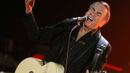 """Ob man ihm mit der Bezeichnung als """"jüdischer Elvis"""" gerecht wird? Neil Diamond, hier im Konzert 2011"""